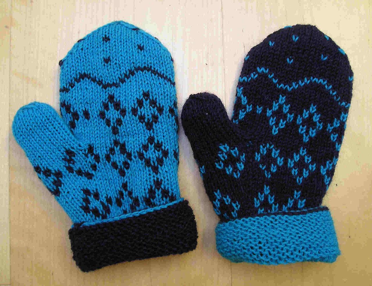 Strickanleitung Handschuhe \